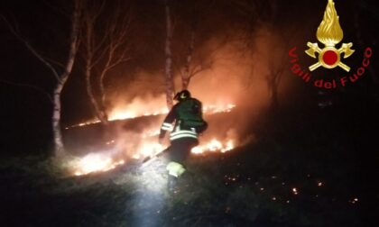 Ancora un Incendio boschivo sul Cornizzolo