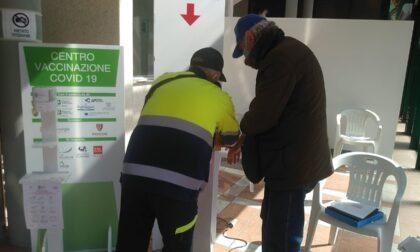 I volontari della Protezione Civile della Provincia di Lecco in campo per la campagna vaccinale