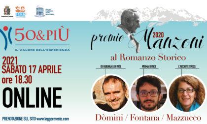 Sabato 17 aprile la finale del Premio Manzoni al Romanzo Storico