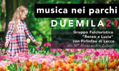 Riparte la cultura a Lecco: al via la rassegna Musica nei parchi 2021