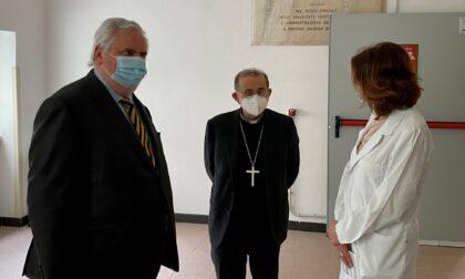 Domani Monsignor Delpini in visita all'hub vaccinale Technoprobe