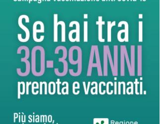 Vaccini UNDER 40 Lombardia: quando e come prenotare, le date