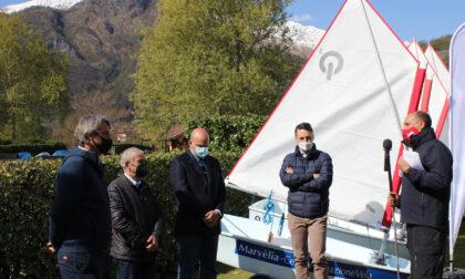 Cartiera dell'Adda dona 5 barche al circolo velico Marvélia