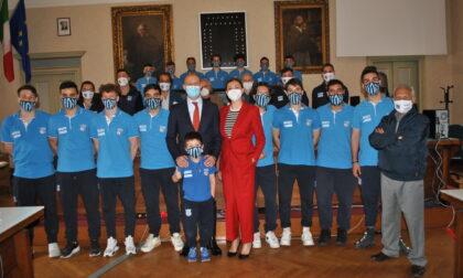 Il sindaco Gattinoni incontra il Lecco Calcio a 5
