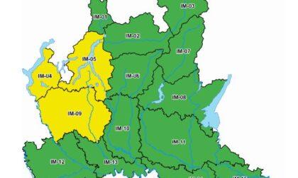 Allerta meteo per rischio idrogeologico nel Lecchese