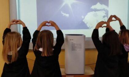 Insieme si può cambiare... aria. Raccolta fondi i purificatori d'aria da mettere a scuola