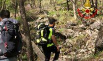 Vigili del fuoco e Saf in azione per un escursionista disorientato in zona rifugio Stoppani