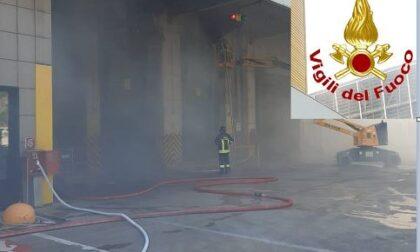 Principio di incendio all'inceneritore: intervento dei Vigili del Fuoco