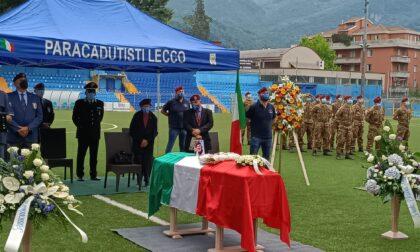 Al Rigamonti Ceppi l'ultimo saluto al Parà Carlo Murelli