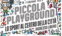 Piccola Playground, tre giornate di sport al centro di Lecco