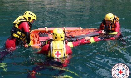 Estate sicura al lago grazie alla Squadra OPSA della Croce Rossa