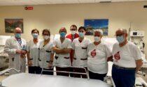 Avis Costa Masnaga dona una barella all'ospedale Manzoni