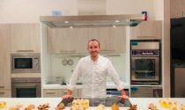 Il pastry chef Antonio Dell'Oro spiega i segreti della preparazione dei dolci