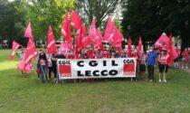 Proroga del blocco dei licenziamenti: anche Cgil, Cisl e Uil di Lecco manifestano a Torino