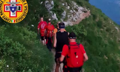 Disidratato e disorientato in Grignetta: 50enne salvato dal Soccorso Alpino
