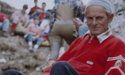 Giovanni Ratti è sulla vetta più alta: addio al decano dei Ragni di Lecco