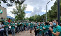 Braccia incrociate dei lavoratori alla Fontana: è il secondo sciopero nella storia dell'azienda
