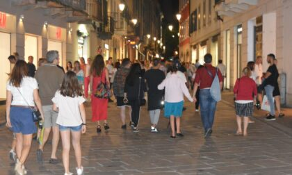 Domani secondo giovedì di Shopping di sera a Lecco
