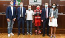 Bus in fiamme in galleria: premiati Mauro Mascetti e Giovanni Lo Dato che hanno salvato 24 ragazzini