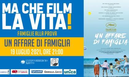 """Lunedì 19 luglio terza pellicola del cineforum estivo: """"Un affare di famiglia"""""""