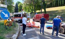 Volontario della Croce Rossa  travolto in bici
