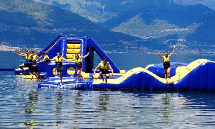E vai coi tuffi: inaugurato il primo acquapark sul Lago di Como