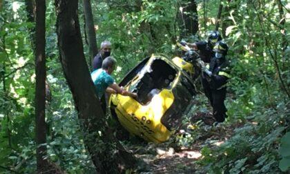 Paura: precipita elicottero privato con a bordo due uomini