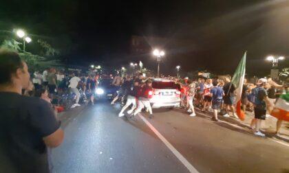 Italia Campione d'Europa: Lecco esplode, feste (e qualche eccesso) in tutta la provincia. 29enne ferito con un  vetro in una lite