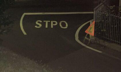 A Merate lo stop diventa... stpo