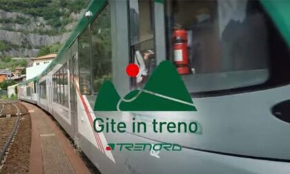 Trekking tra le montagne a picco sul Lago d'Iseo: gita 100% green con Trenord