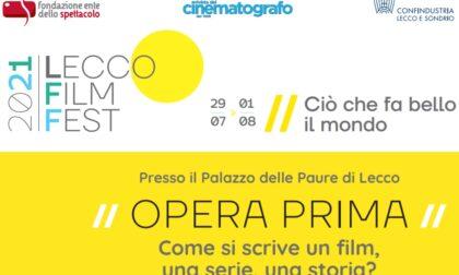 """Lecco Film Fest: è iniziato  il corso """"Opera prima"""""""