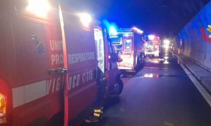Autobus in fiamme: i lavori in Statale 36 dureranno due settimane. Bypass con doppio senso di marcia dal 15