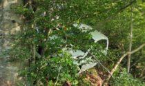 Auto fuori strada al Cainallo: 28enne elitrasportato al Manzoni