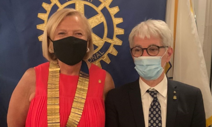 Maria Venturini nuova presidente del Rotary Club Lecco
