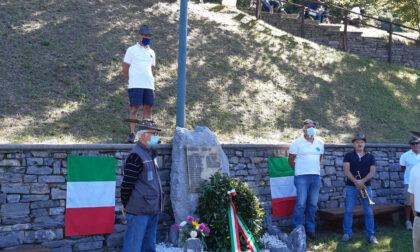 Alpini di Perledo rinunciare alla loro tradizionale festa al Sacrario di Agueglio