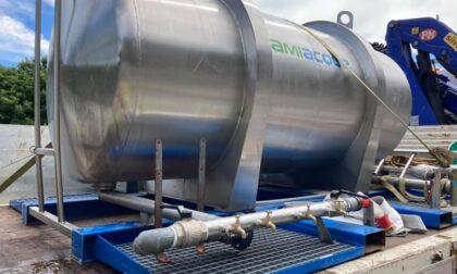 Frana a Ballabio: in corso la distribuzione di acqua potabile e d'uso igienico