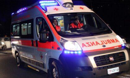 Travolto da un'auto a Curno: morto 55enne in scooter