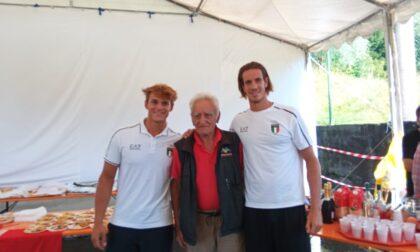 Olcio ha abbracciato Andrea Panizza nella giornata storica per lo sport azzurro
