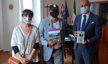 Il Sindaco Gattinoni ha ricevuto il Cavaliere Bianco Carlo Olmo
