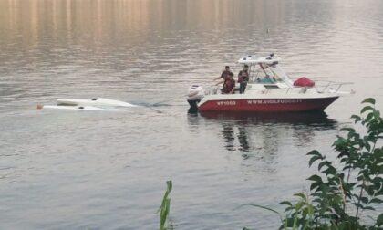 Idrovolante si inabissa nel lago di Garlate, Vigili del Fuoco in soccorso