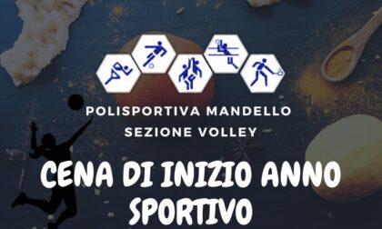 Polisportiva Mandello Sezione Volley invita alla cena di inizio anno sportivo