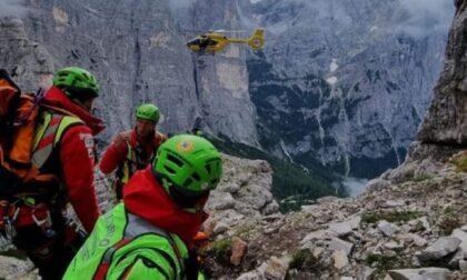 Tragedia sul Civetta, alpinista brianzolo precipita e perde la vita a soli 27 anni