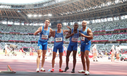 Olimpiadi, favolosa Italia: il brianzolo Tortu e gli azzurri della staffetta 4x100 sono d'oro
