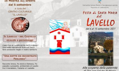 Festa del Lavello 2021: il programma completo