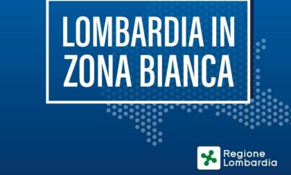 Zona bianca confermata per la Lombardia