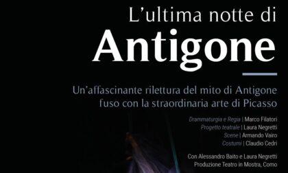 """Grandi emozioni per lo spettacolo di """"L'ultima notte di Antigone"""""""