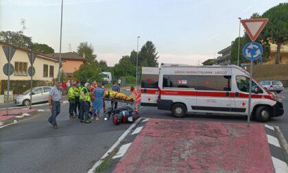 Schianto auto moto: 20enne in gravi condizioni.  Lunghe code sulla provinciale