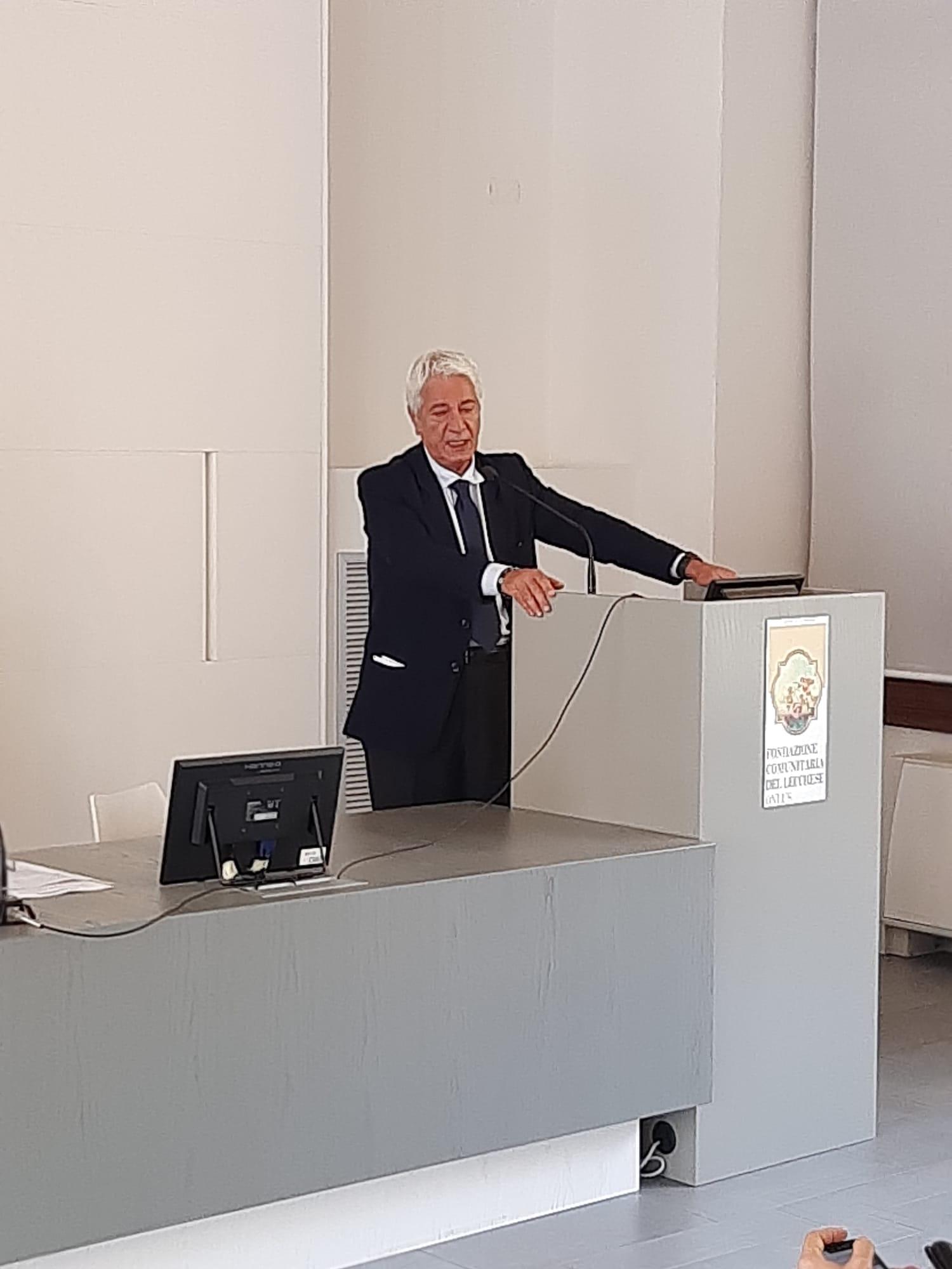 Vittorio Tonini Patto per il Lavoro