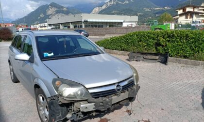 Tamponamento a catena sulla Provinciale, ferita una 24enne