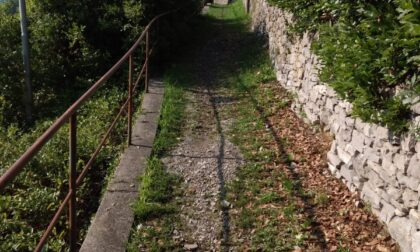 Sentiero di Fiumelatte, iniziati i lavori